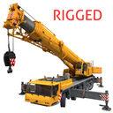 Crane Liebherr rigged