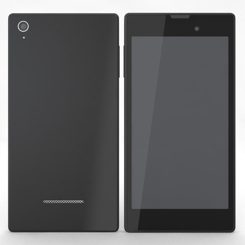 generic phone 4 3d model
