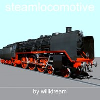 3d model steam engine