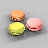 3 Macarons