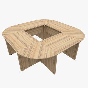 3d rack office table