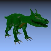 3d model dragon baby