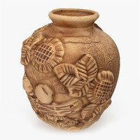 ethnic vase 3d model