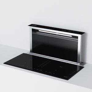 3d sme cooktop model