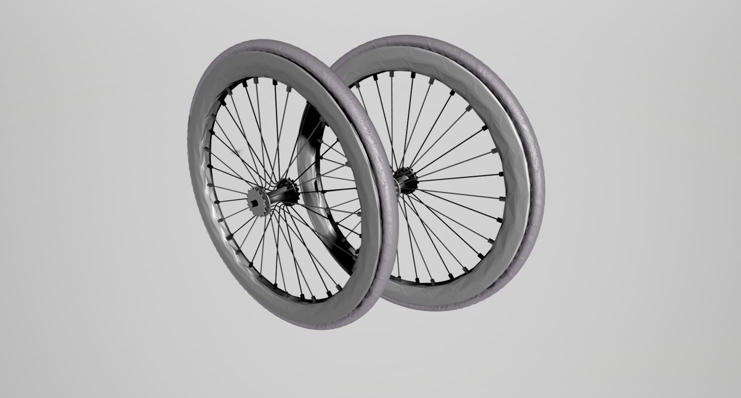 bicycle tire wheel 3d model