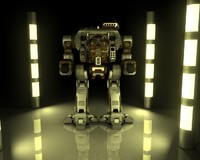 3ds max mechwarrior direwolf
