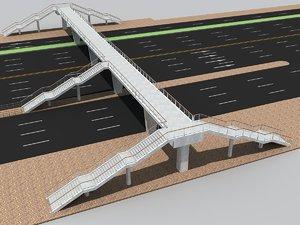 bridge foot 3d model