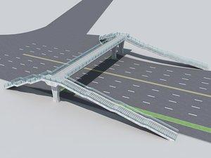 pedestrian bridge foot max