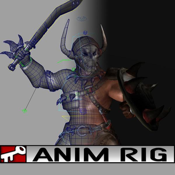 3d rig dragon siege