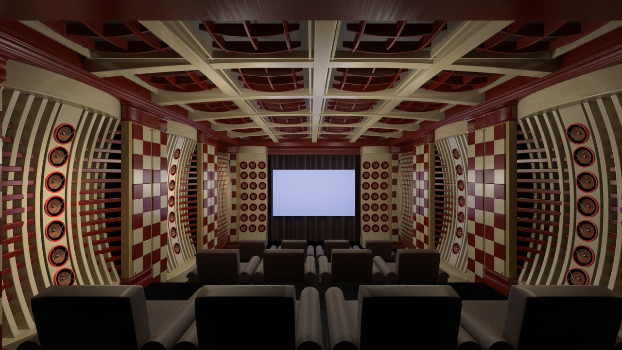 max modern home theater