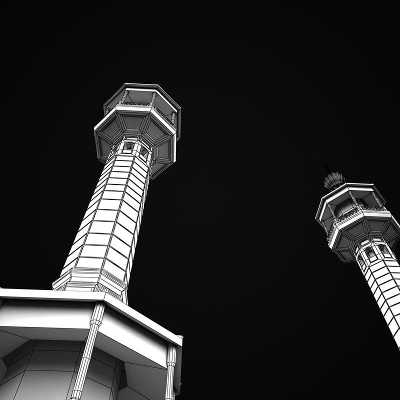 3dsmax minaret