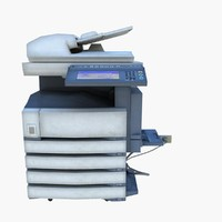 copy machine 3d max