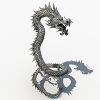 Chinese Dragon Sculpture 02