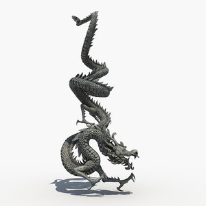asian dragon sculpture sculpt max