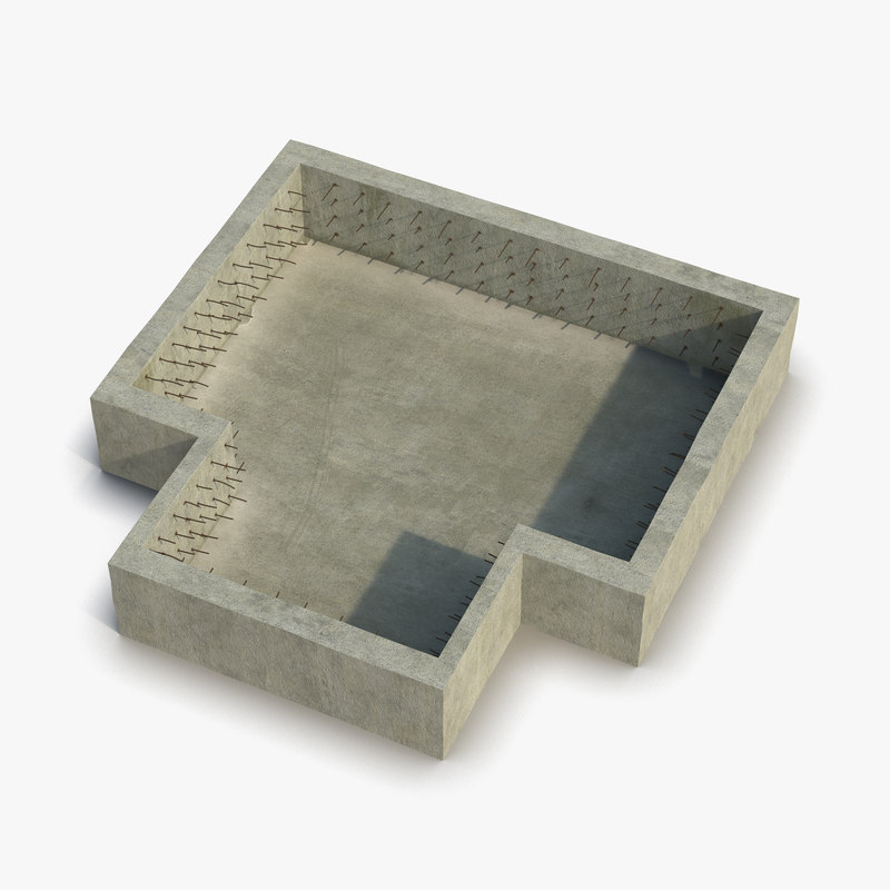 3ds max building foundation
