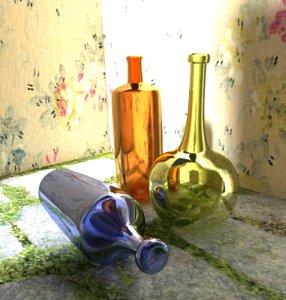 free blend model bottle environment