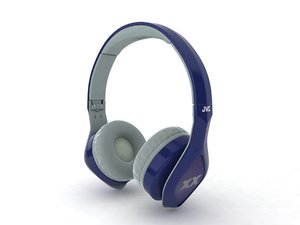 3d model jvc elation xx headphones