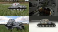 soviet t-34 85 tank 3d obj