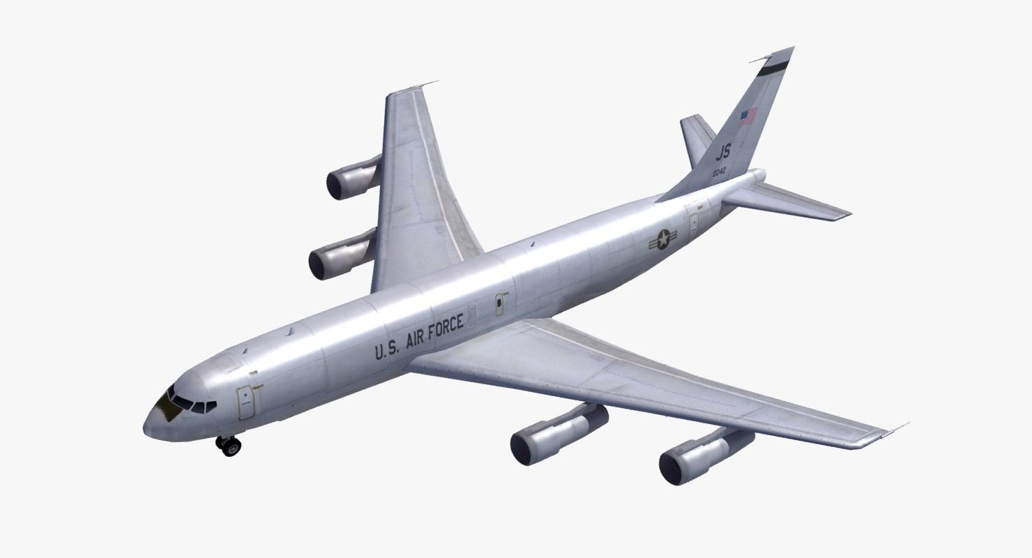 3d model e8 joint stars surveillance
