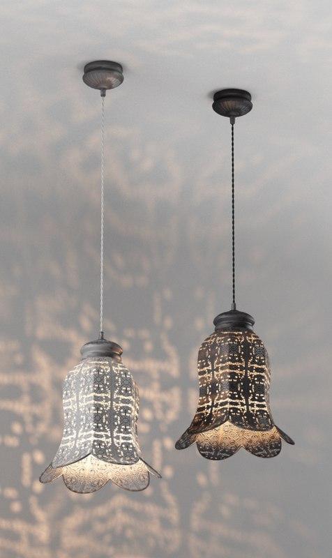 3d model lamps