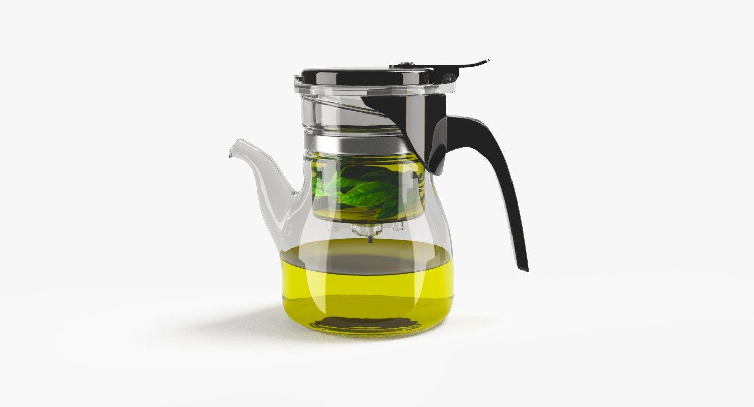 gongfu teapot 3d model