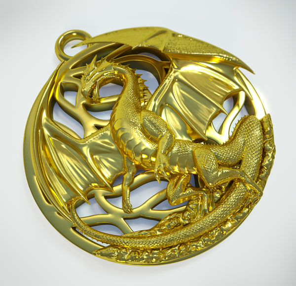 max dragon pendant