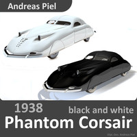 3d 1938 phantom corsair black