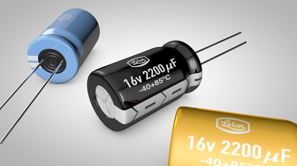 capacitor 3d model