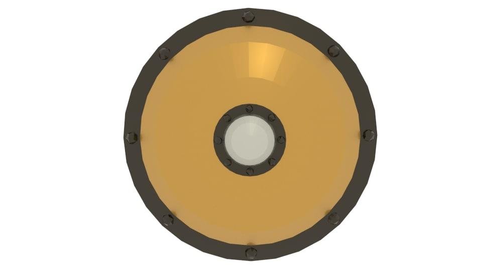 3d model shield ptolos