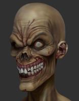 zombie ztl zbrush 3d obj