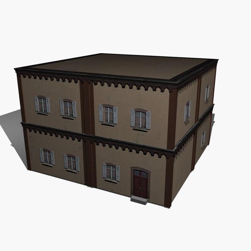apartment house 3d x