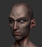 Dishonored Style Head