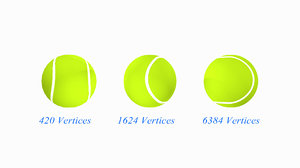 tennis ball obj