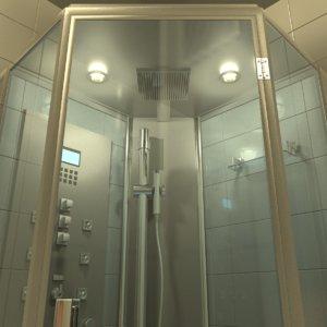 bathroom shower obj