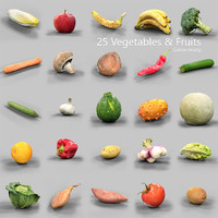 25 Vegetables & Fruits