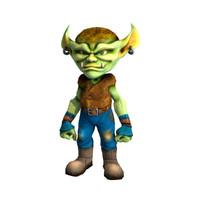 character goblin 3d model