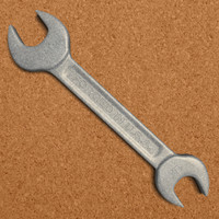 wrench tool obj