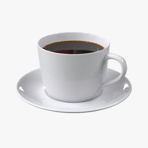 coffee cup 3d max