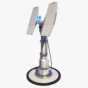 max sci-fi radar tower