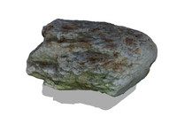 Desert rock 3D Scan