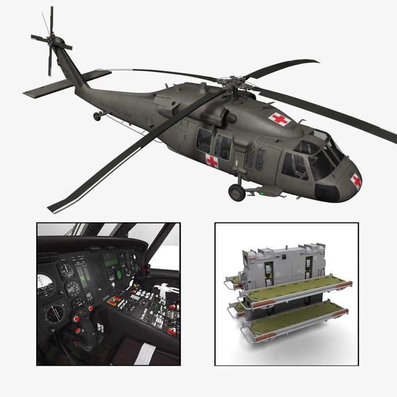 obj purchase uh-60l medevac helicopter