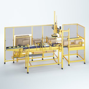 packing machine obj
