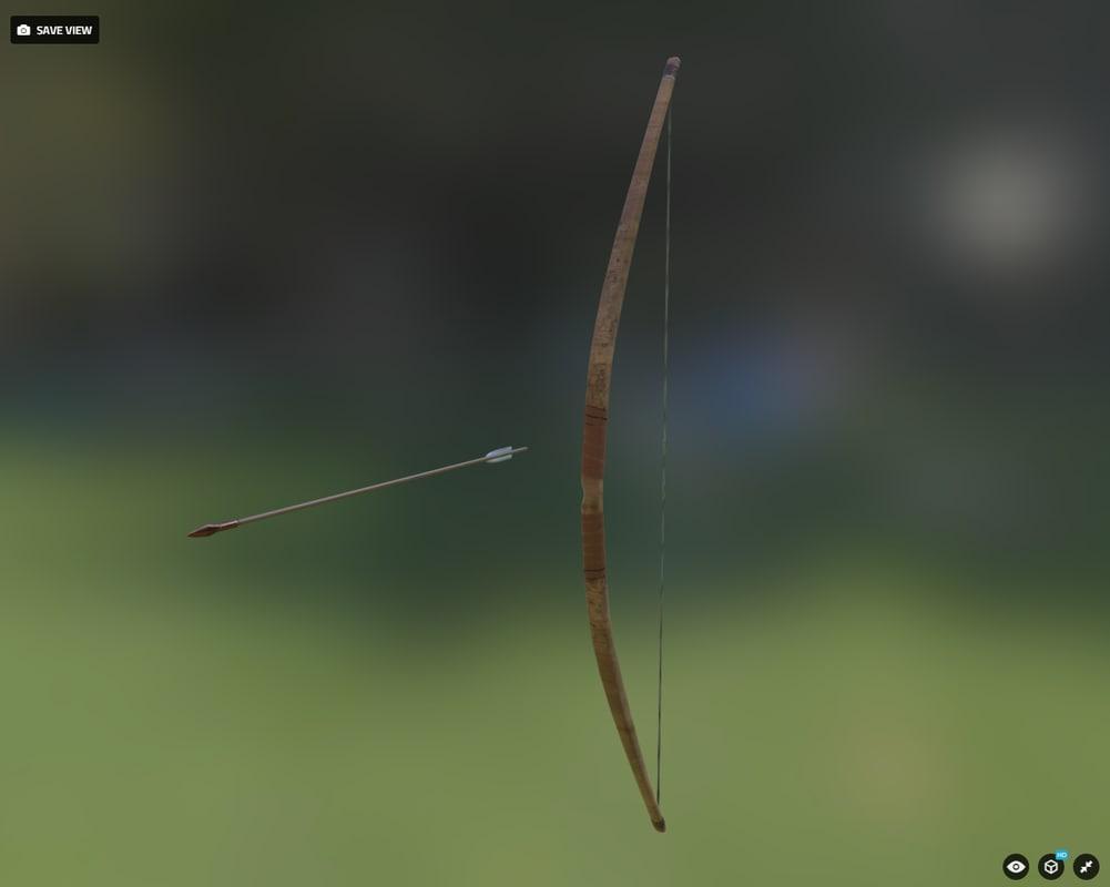 3d bow