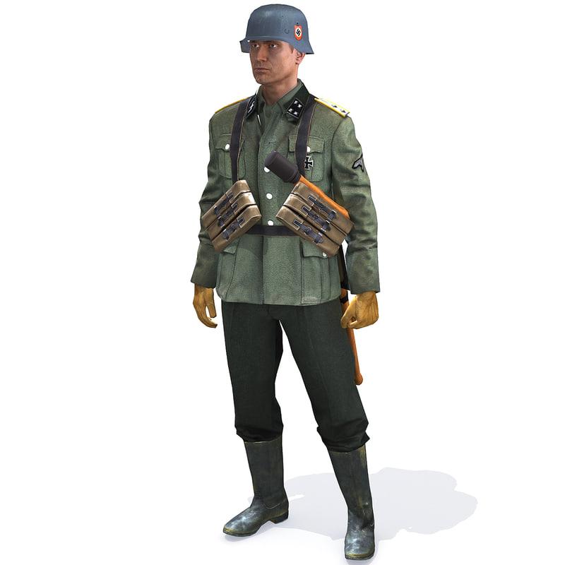 max rig soldier ww2 german