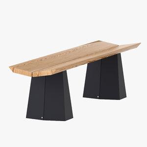 established sons a-bench 3d model