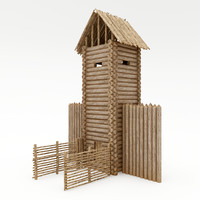 wood tower max