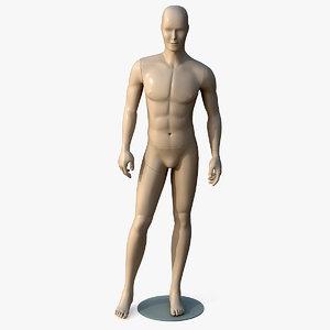 3d manikin man model