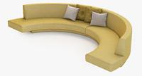 Melissa Curved sofa