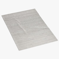 Ligne Pure Transform Rectangular Light Gray Area Rug