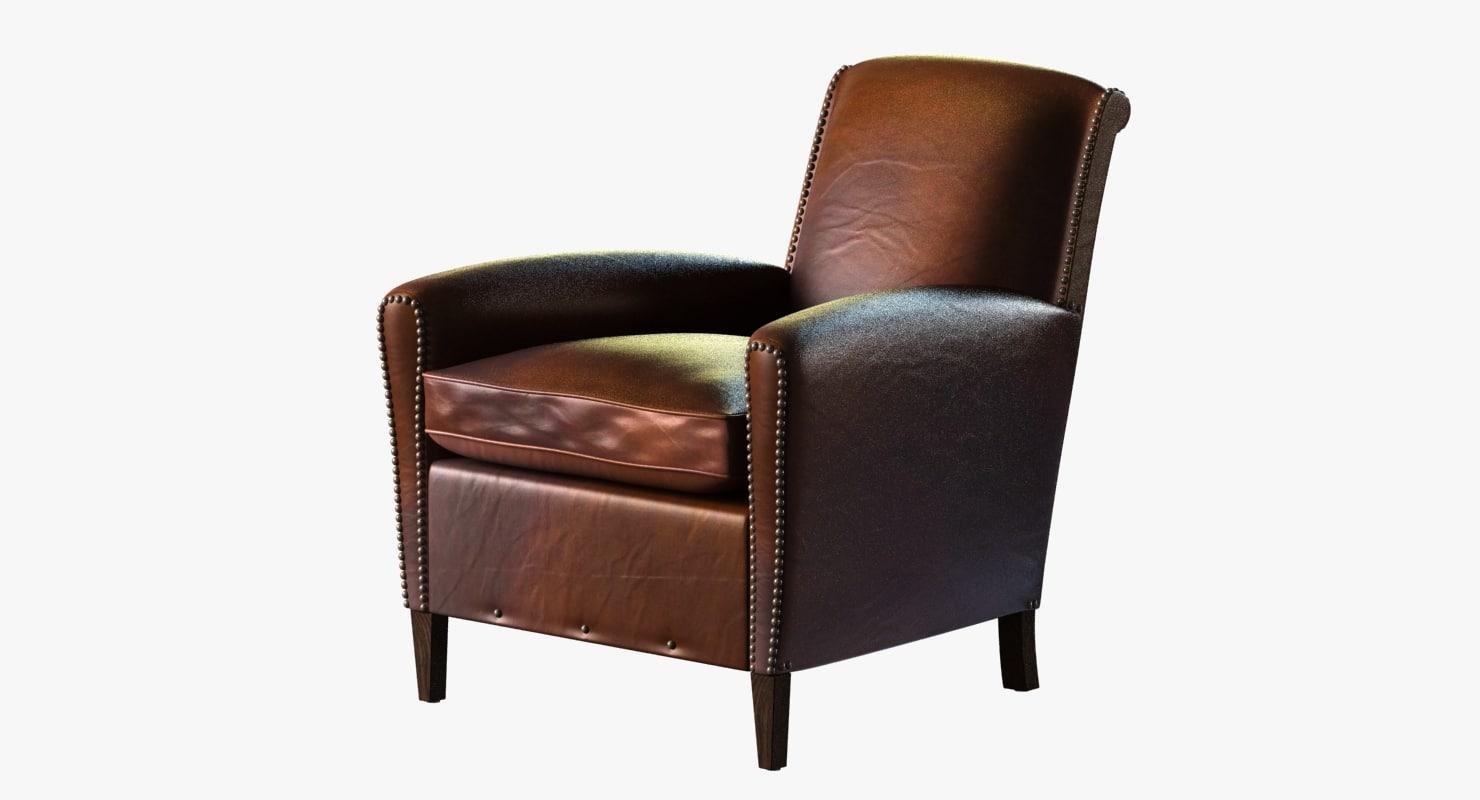 obj chair restoration hardware gerrard